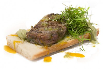 Bocadillo de Steak Tartar